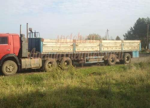 Длинномер Камаз с полуприцепом 12 м